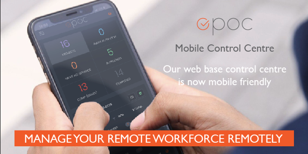 OPOC project management control centre goes mobile